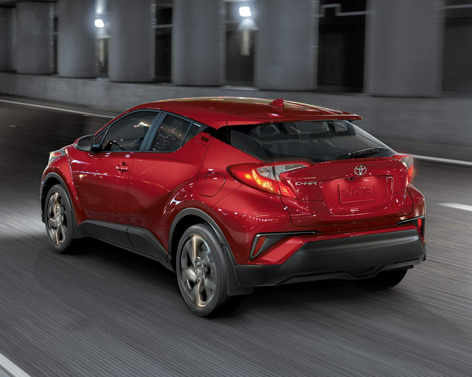 toyota-2018-toyota-c-hr-exterior-ruby-flare-pearl-rear-l
