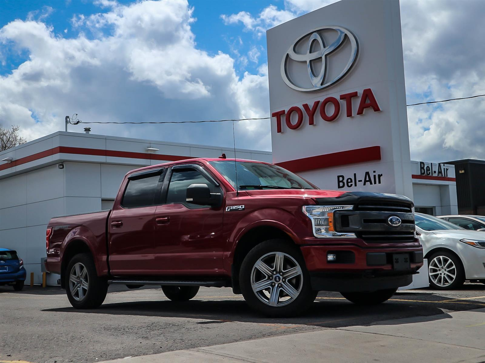 2018 Ford F-150 at Bel-Air Toyota
