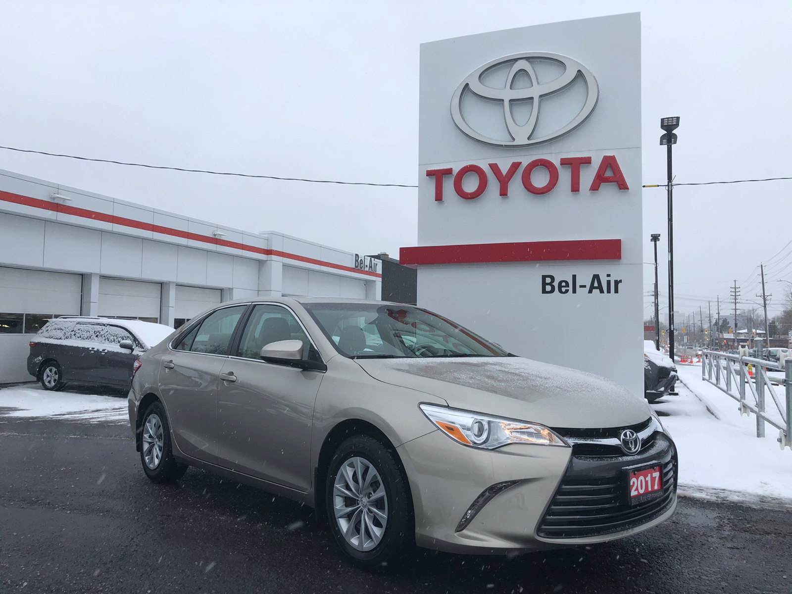 2017 Toyota Camry at Bel-Air Toyota