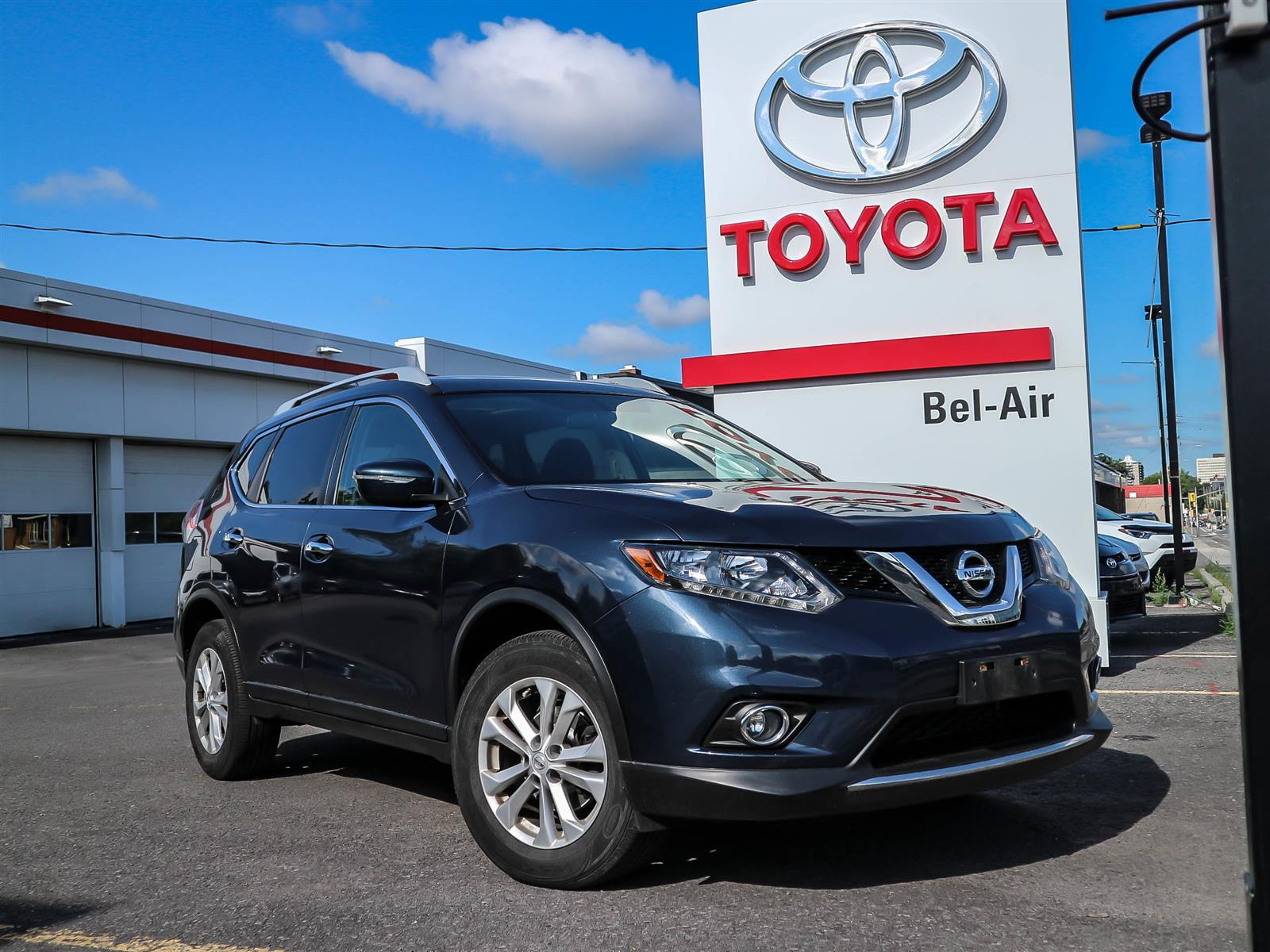2015 Nissan Rogue at Bel-Air Toyota