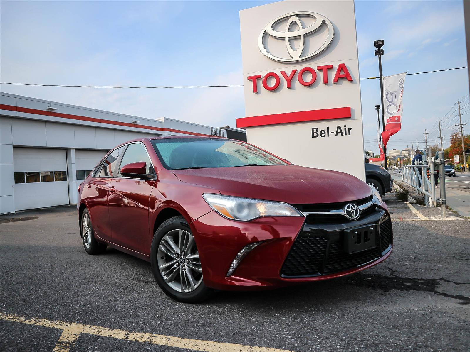 2015 Toyota Camry at Bel-Air Toyota
