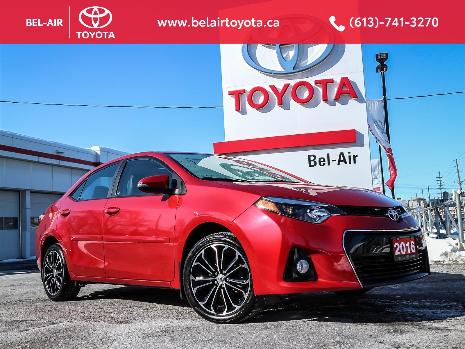 2016 Toyota Corolla at Bel-Air Toyota