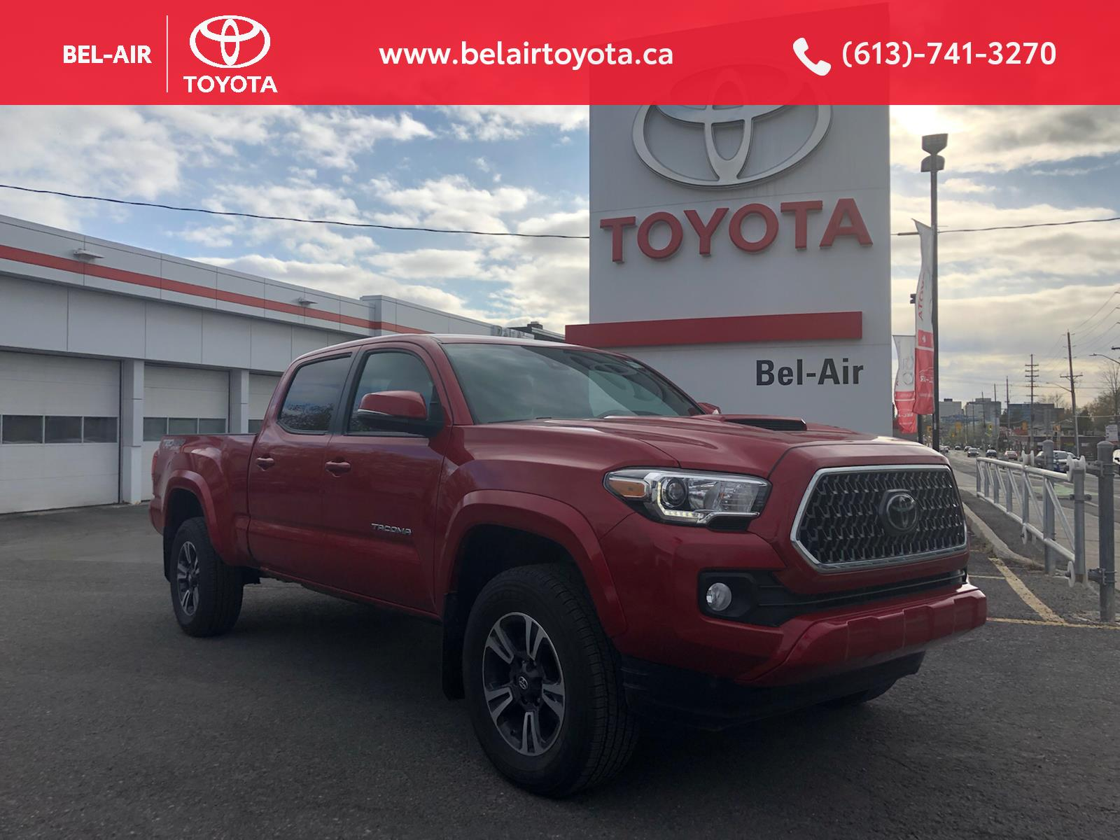 2018 Toyota Tacoma at Bel-Air Toyota