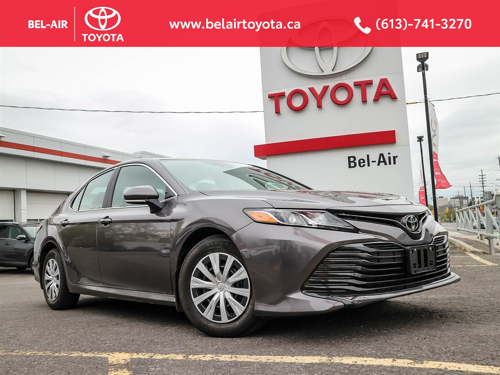 2019 Toyota Camry at Bel-Air Toyota
